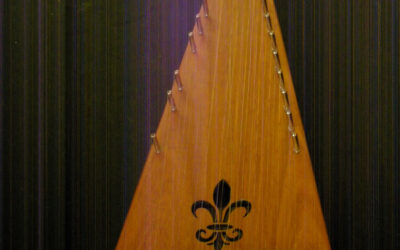 Soprano Bowed Psaltery / #1042