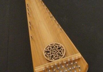 Soprano Bowed Psaltery / #1032